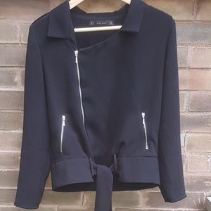 ⚡ 2 for $30⚡Zara Basic Motorcycle style jacket